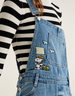image of liquidation wholesale pullandbear pinafore dress