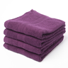 image of liquidation wholesale purple hand towel