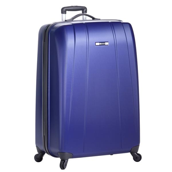 image of liquidation wholesale purple hardcover luggage