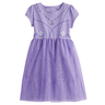 image of wholesale closeout purple kids dress