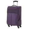 image of wholesale closeout purple luggage