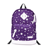 image of wholesale purple white back pack