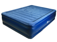 salvage new and return wholesale queen blue air bed