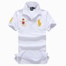 image of wholesale closeout ralph lauren mens white gold polo