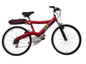 image of liquidation wholesale red bike