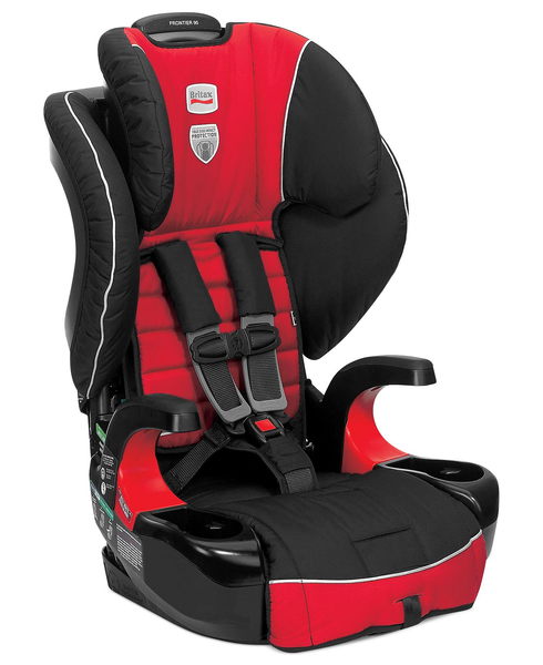 image of liquidation wholesale red car seat