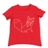 image of wholesale red childrens tee