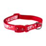 image of wholesale closeout red dog collar