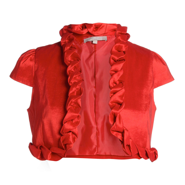 image of wholesale closeout red jacket chicos