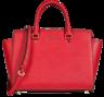 image of liquidation wholesale red michael kors handbag