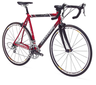 salvage new and return wholesale red mountain bike