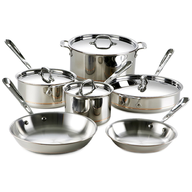 wholesale discount silver pots and pans