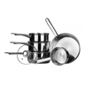 image of wholesale closeout silver pots pans