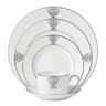 image of liquidation wholesale silver ralph lauren china set