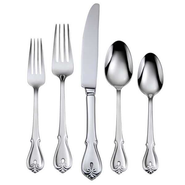 image of wholesale closeout silver silverware set