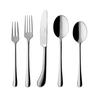 image of liquidation wholesale silverware set silver