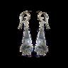 image of wholesale closeout sleeping bat earrings