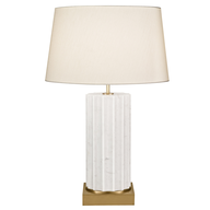 wholesale closeout small white lamp