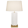 image of wholesale closeout small white lamp