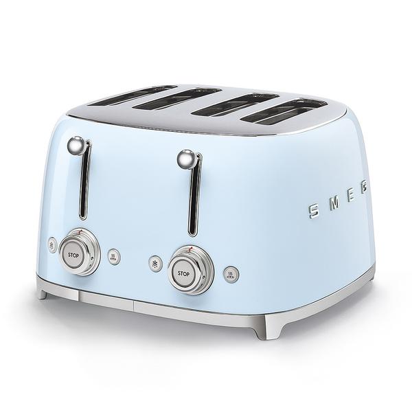 image of wholesale smeg blue toaster