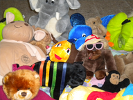 salvage new and return wholesale soft toys