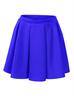 image of liquidation wholesale solid blue skirt