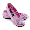 wholesale liquidation sparkle ballerina child shoes pink