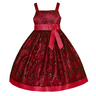 image of liquidation wholesale sparkle red dress