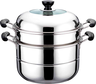 image of wholesale closeout stainless steel steamer