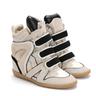 image of liquidation wholesale suede sneaker heel