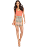 wholesale discount tribal print skirt
