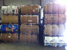 image of wholesale closeout used bails of domestics linens