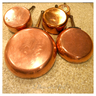 image of liquidation wholesale used brass pots