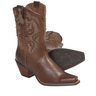 image of wholesale closeout used brown cowboy boots
