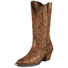 image of wholesale closeout used cow boy boots brown