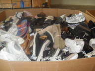 wholesale closeout used shoes pallets
