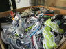 image of wholesale closeout used shoes sneakers