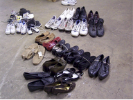 wholesale closeout used shoes