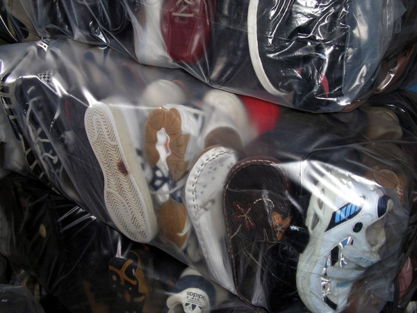 image of wholesale used shoes