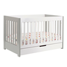 image of wholesale white crib set