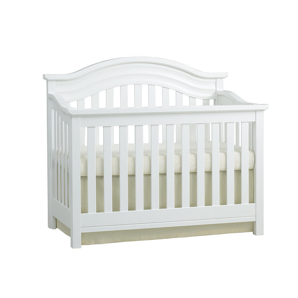 image of liquidation wholesale white crib