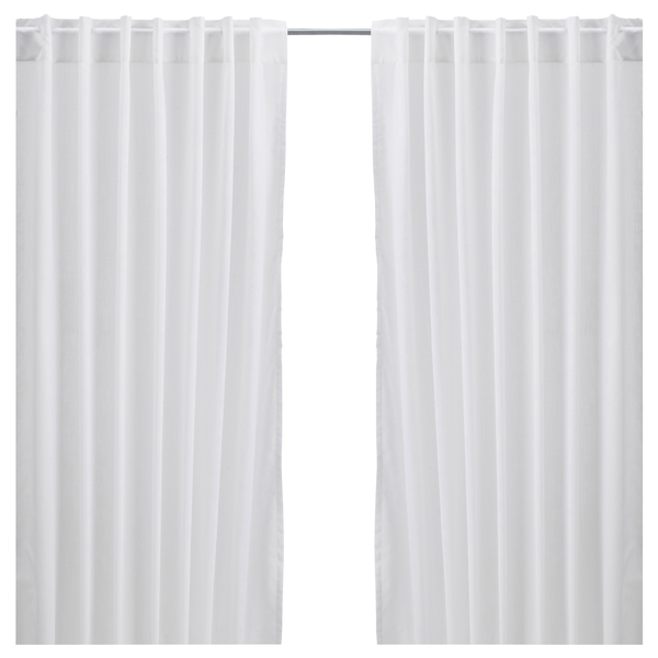 image of liquidation wholesale white curtains