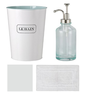 image of wholesale closeout white french bathroom accessories