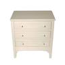image of wholesale closeout white mini dresser