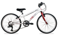 wholesale closeout white red bike