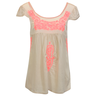 image of wholesale closeout womens blouse beige