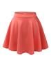 image of wholesale womens orange skirt