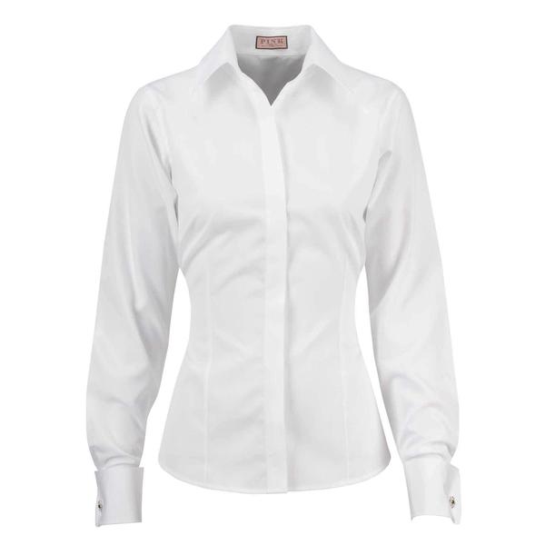 image of liquidation wholesale womens white dress shirt