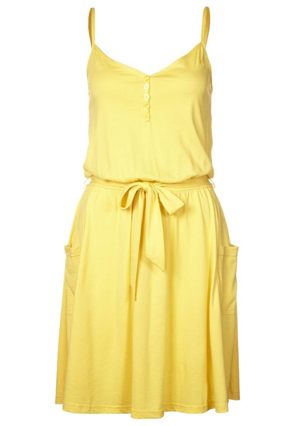 image of wholesale closeout womens yellow dress