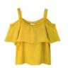image of wholesale closeout yellow blouse women
